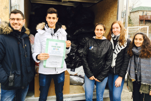 Super Recyclers Drive at École Stanislas