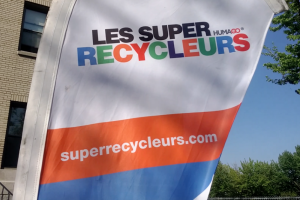 The banner of the Super Recyclers