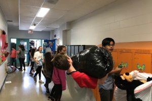 Collecte des Super Recycleurs - Boucherville Elementary