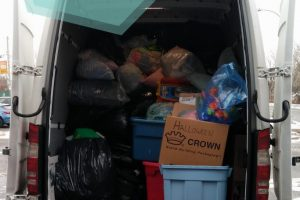 Collecte des Super Recycleurs à l'école Edgewater