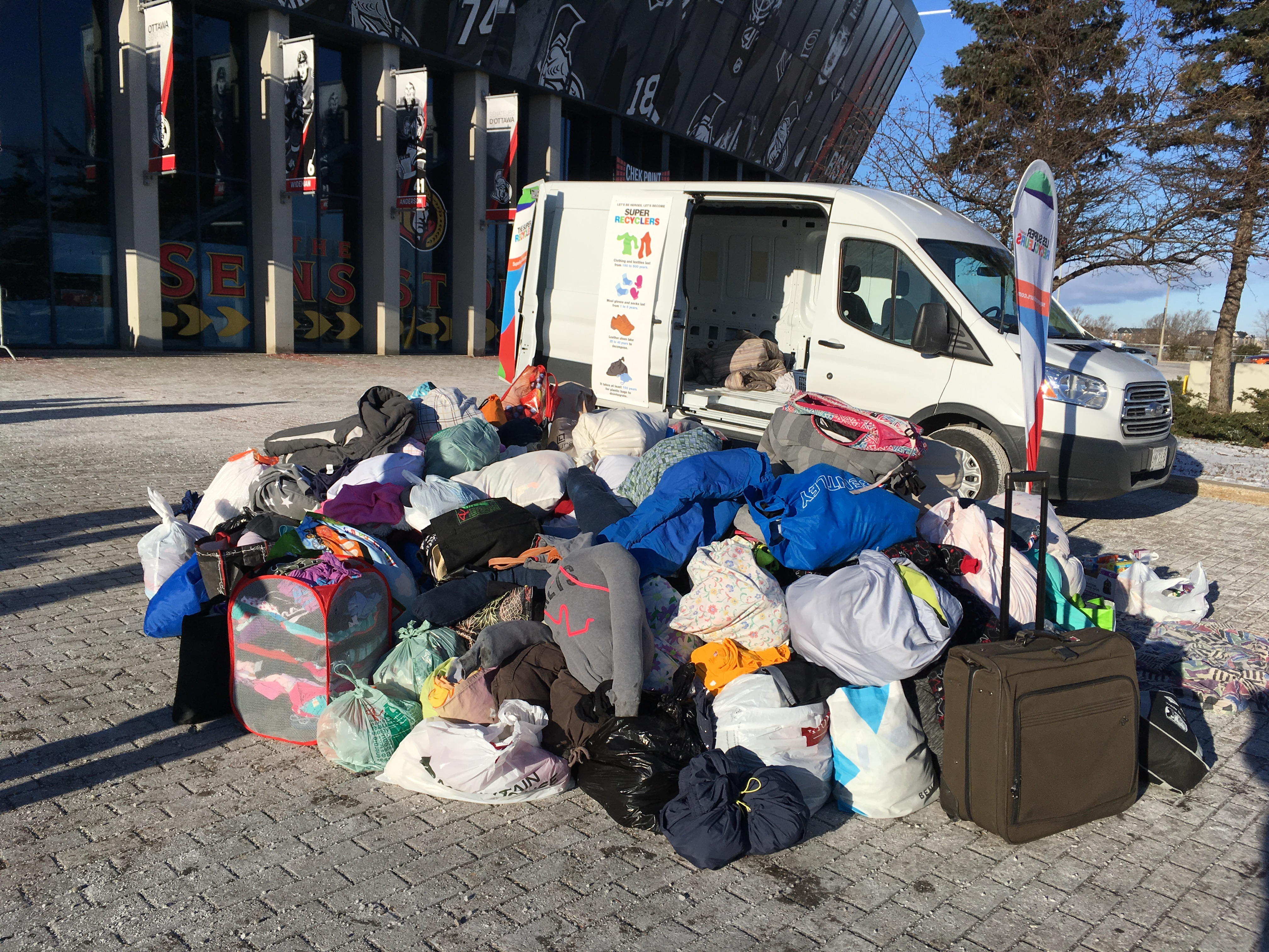 Collecte pour WE Day - Ottawa
