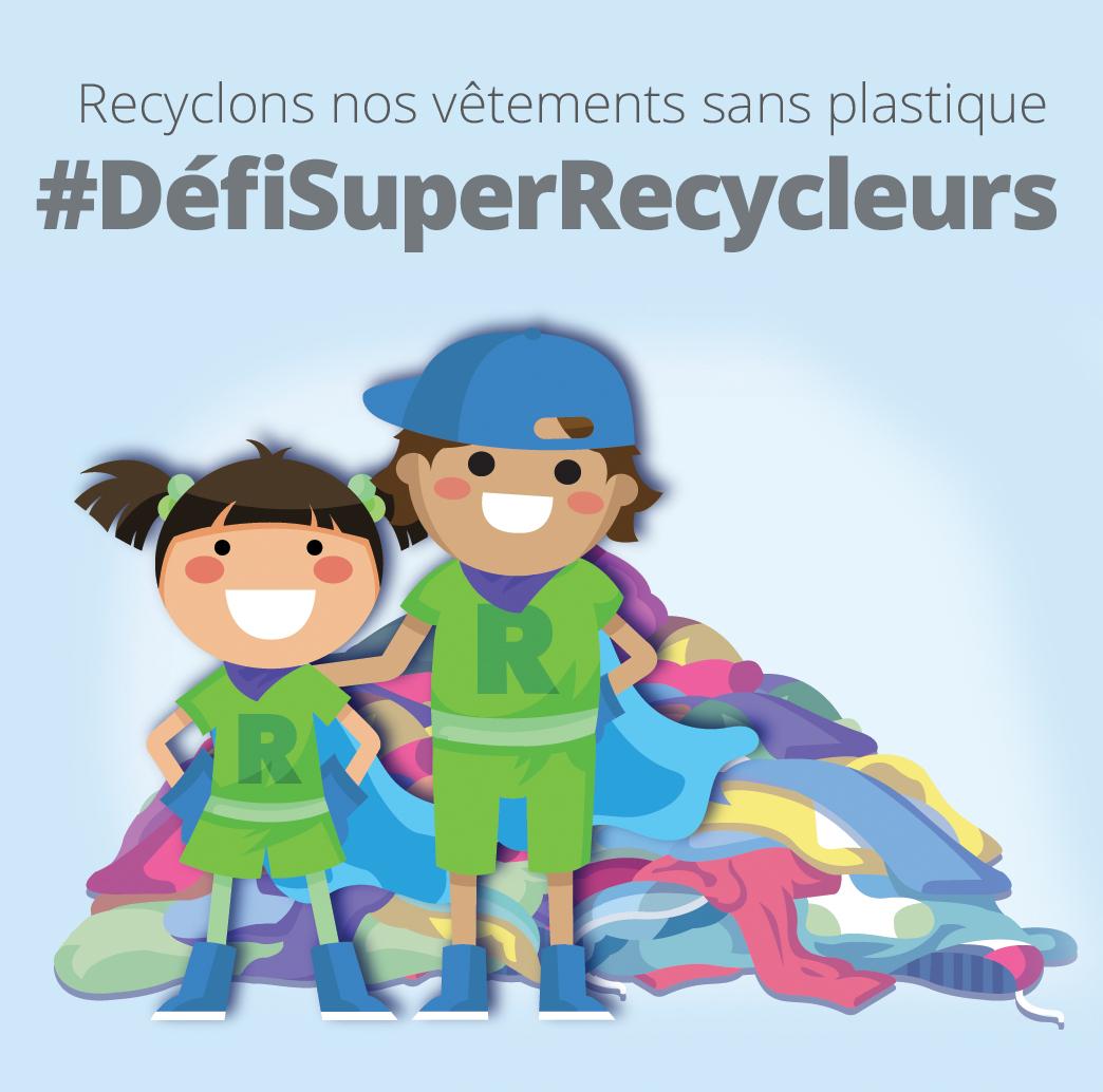 #DéfiSuperRecycleurs - format portrait