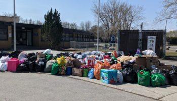 St-Lawrence School, Earthday in Candiac